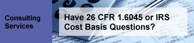 Need to calculate Cost Basis, Wash Sales and Date Adjustments?